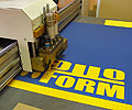 CNC Plotter - LaserComb HSP in practise